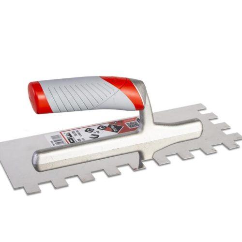 Rubi Lijmspaan RVS PRO + Ergonomisch Soft Grip