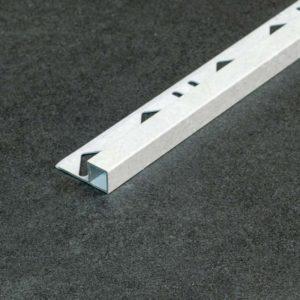 Tegelprofiel Aluminium Vierkant Mat Beton Look - Lengte 2,50m