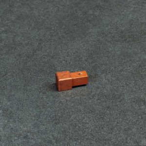 Hoekstuk Uitwendig/Inwendig Vierkant Aluminium Verweerd Koper Mat