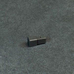 Hoekstuk Uitwendig/Inwendig Vierkant Aluminium Antraciet Mat