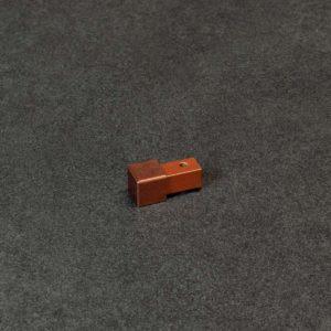 Hoekstuk Uitwendig/Inwendig Vierkant Aluminium Antiek Koper Mat