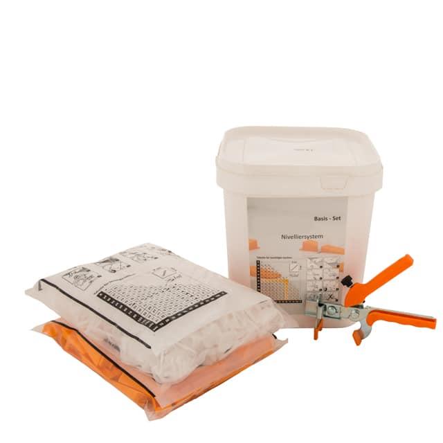 Tegel Nivelleersysteem Pro - Starters Kit - 1mm, 1,5mm, 2mm en 3mm voegbreedtes