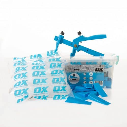 OX Tile Tegel Levelling Systeem - Starters Kit - 1mm & 2mm