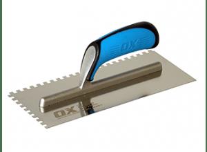 OX Tools Lijmspaan RVS Ronde vertanding - 15 x 20mm