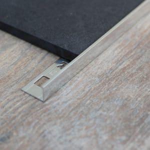 OX Tools Aluminium tegelprofiel L-vorm hoogglans 2,70m lengte