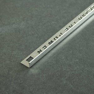 OX Tools Tegelprofiel Recht Gepolijst RVS - Lengte 2,70m