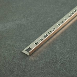 OX Tools Tegelprofiel Recht Rosé Koper RVS - Lengte 2,70m