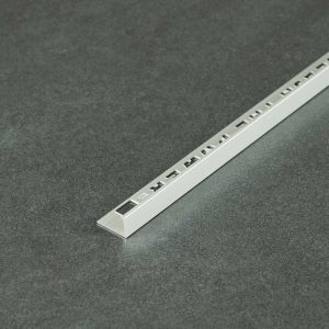 OX Tools Tegelprofiel Recht Aluminium Mat Zilver - Lengte 2,70m
