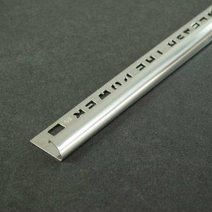 OX Tools Tegelprofiel Kwartrond RVS Gepolijst - Lengte 2,70m