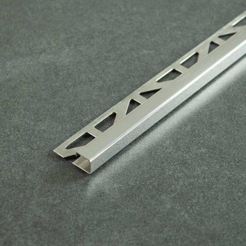 Tegelprofiel Gepolijst RVS Vierkant - Lengte 2,50m of 2,70m