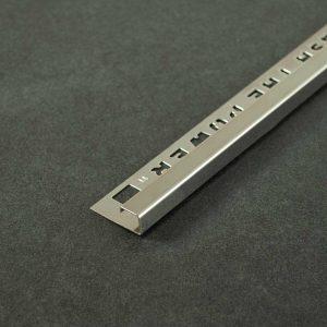 OX Tools Tegelprofiel Vierkant Gepolijst RVS - Lengte 2,70m