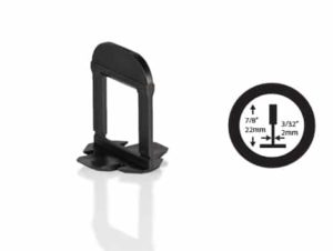 OX Tile Levelling Clips - 2mm - Extra lang