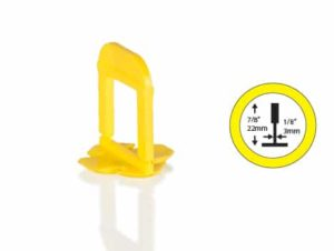OX Tile Levelling Clips - 3mm - Extra lang