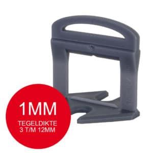 Rubi Delta Levelling Clips - 1mm