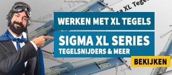 Lijmkam.nl | Werken met groot formaat / XL tegels