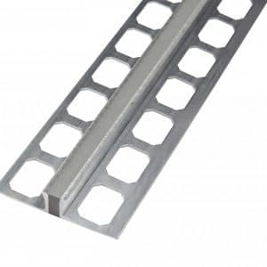 Dilatatie tegelprofiel aluminium natura 2,50 lengte